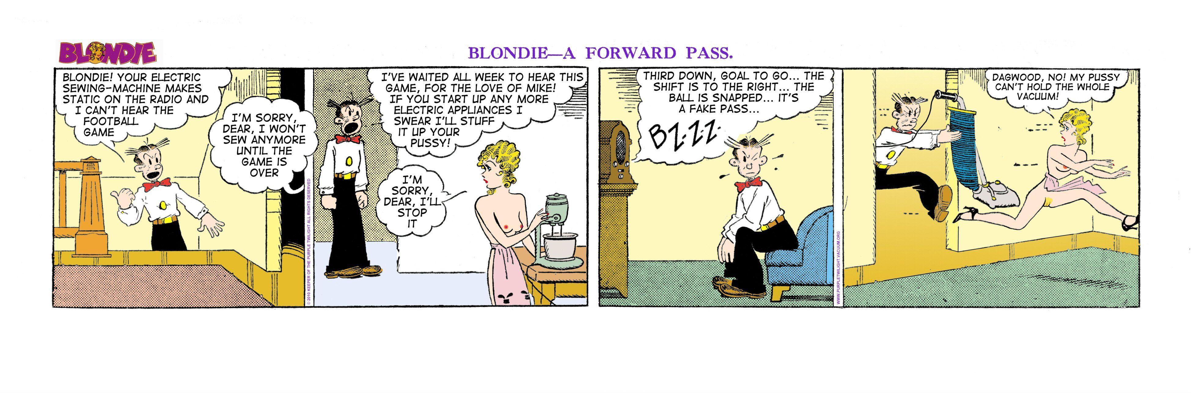 dagwood und blondie comics xxx