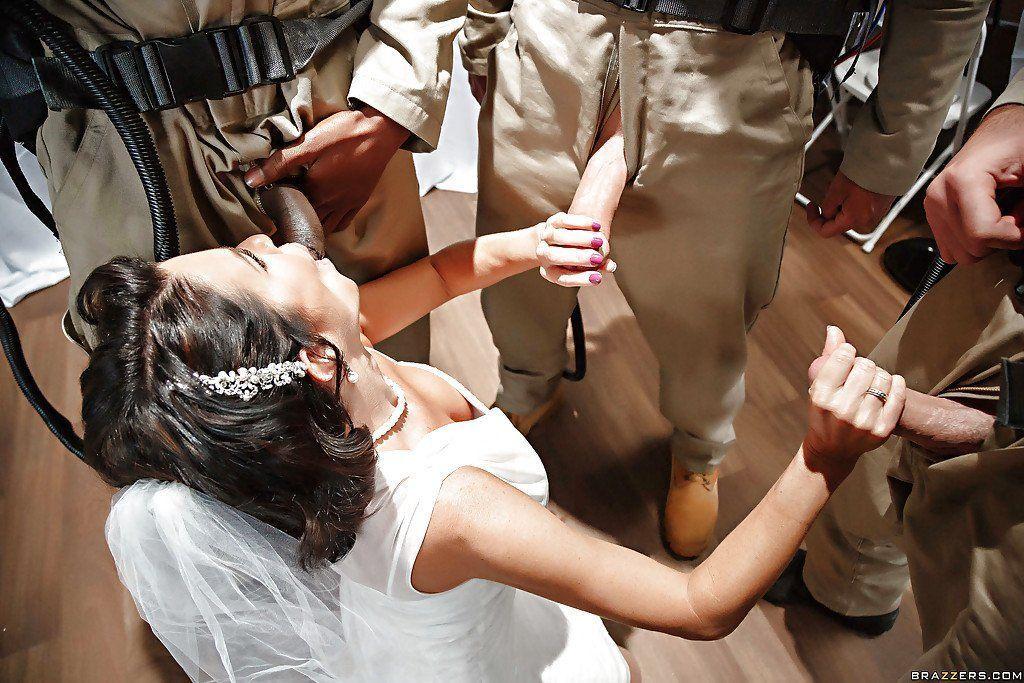 Brides gang bang sex picks