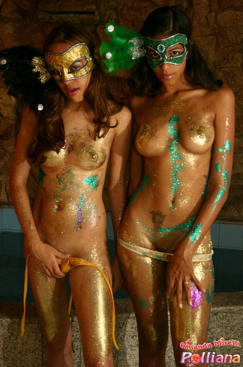 Nude carnival Jump and