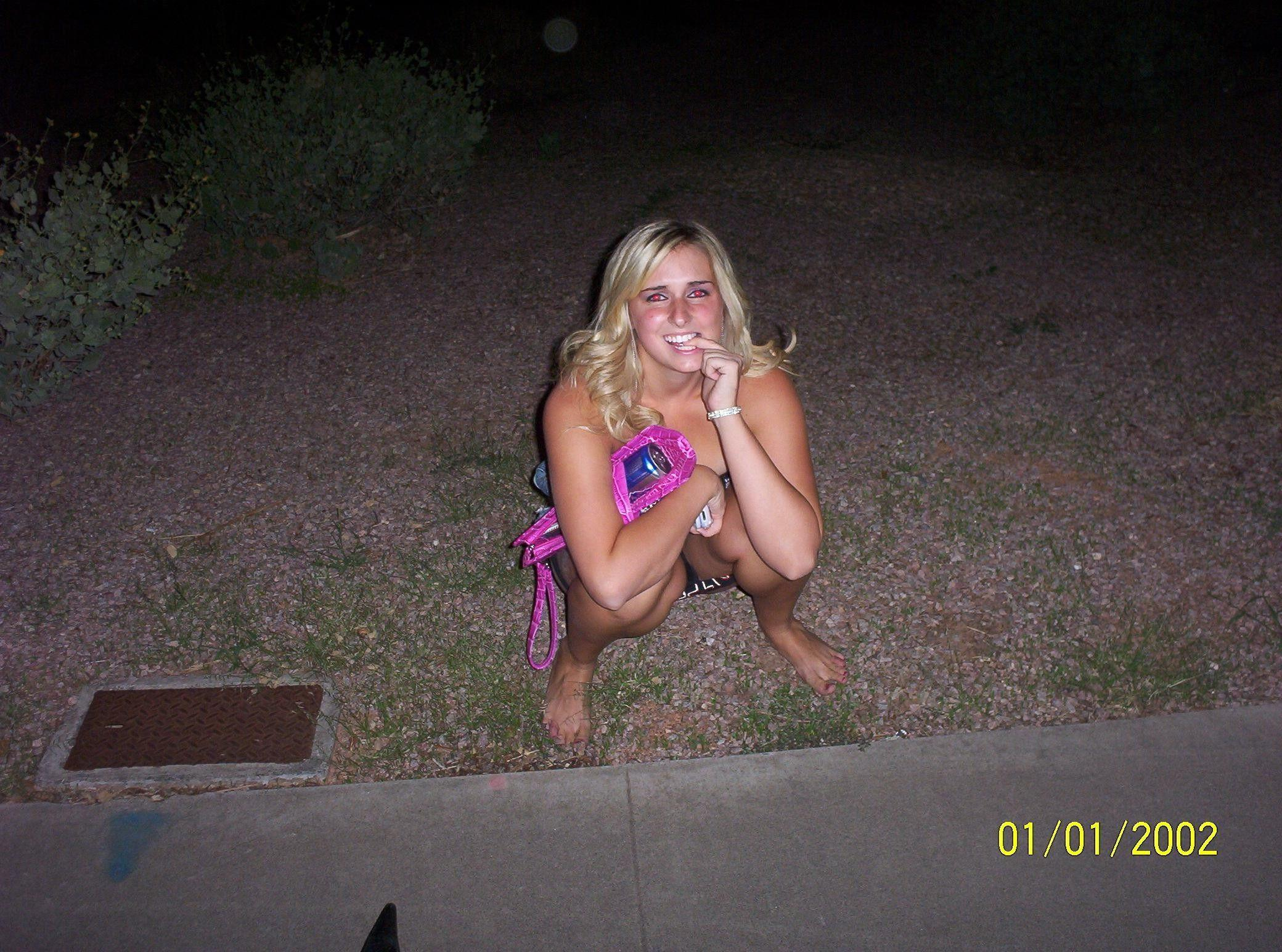 XXX Sex Images women caught peeing outside