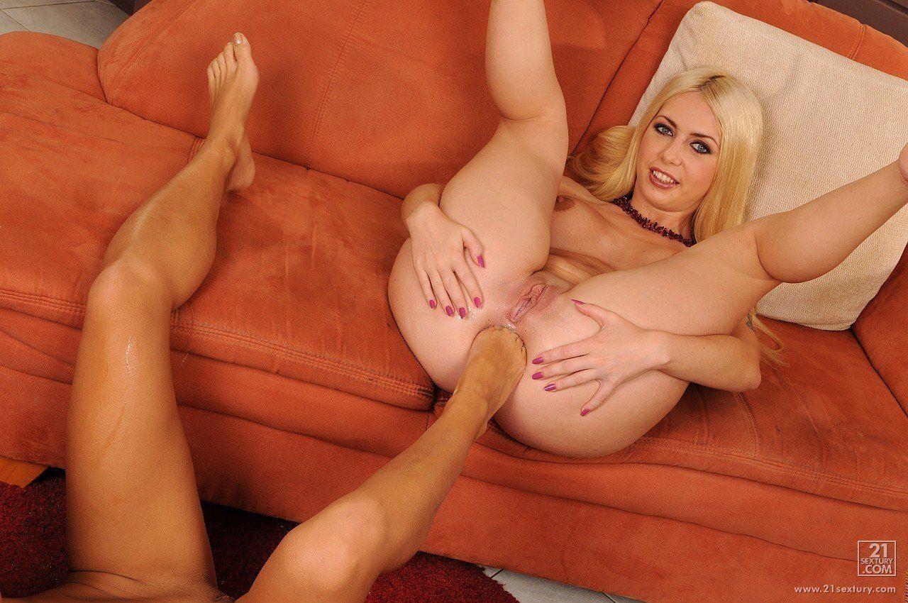 pleasure Lesbian foot